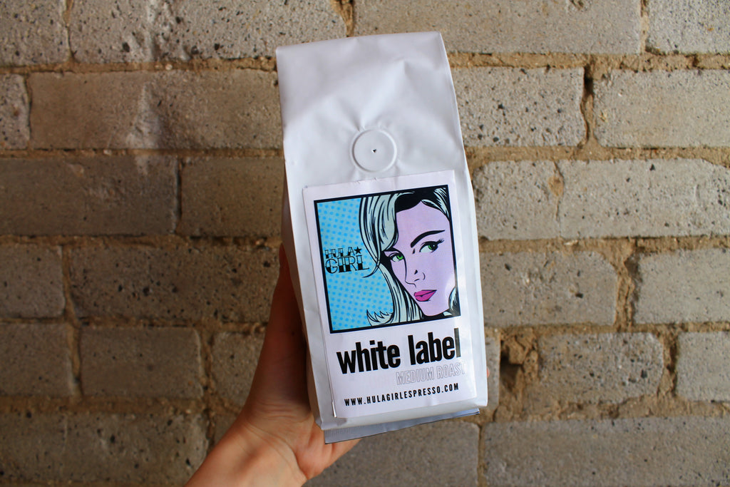 White Label - Medium Roast (12oz)