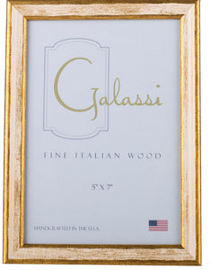Cream and Gold Wood Frame