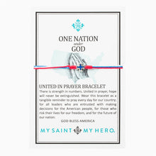 Load image into Gallery viewer, One Nation Under God United in Prayer Bracelet