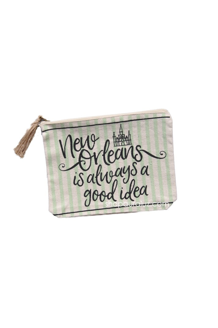 Zippered Pouch - New Orleans