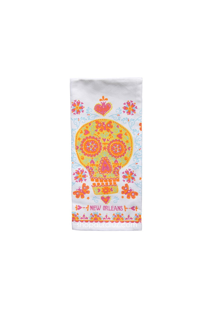 Towel-Sugar Skull