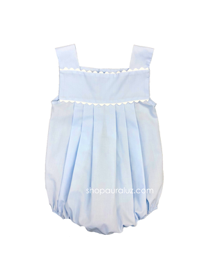 Auraluz Boy Sun Bubble...Blue with white ric-rac trim