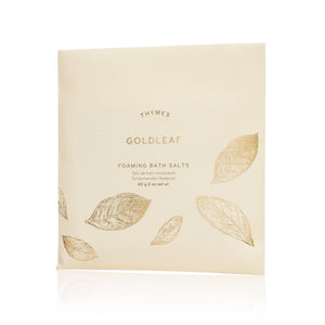 Goldleaf Foaming Bath Salts