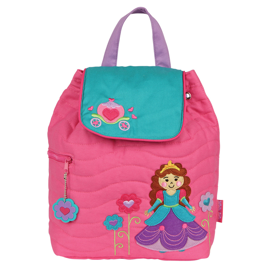 Quilted Backpack-Princess