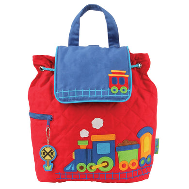 Quilted Backpack-Train