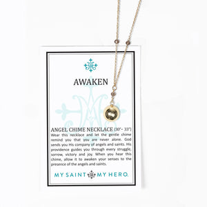 Awaken Angel Chime Necklace
