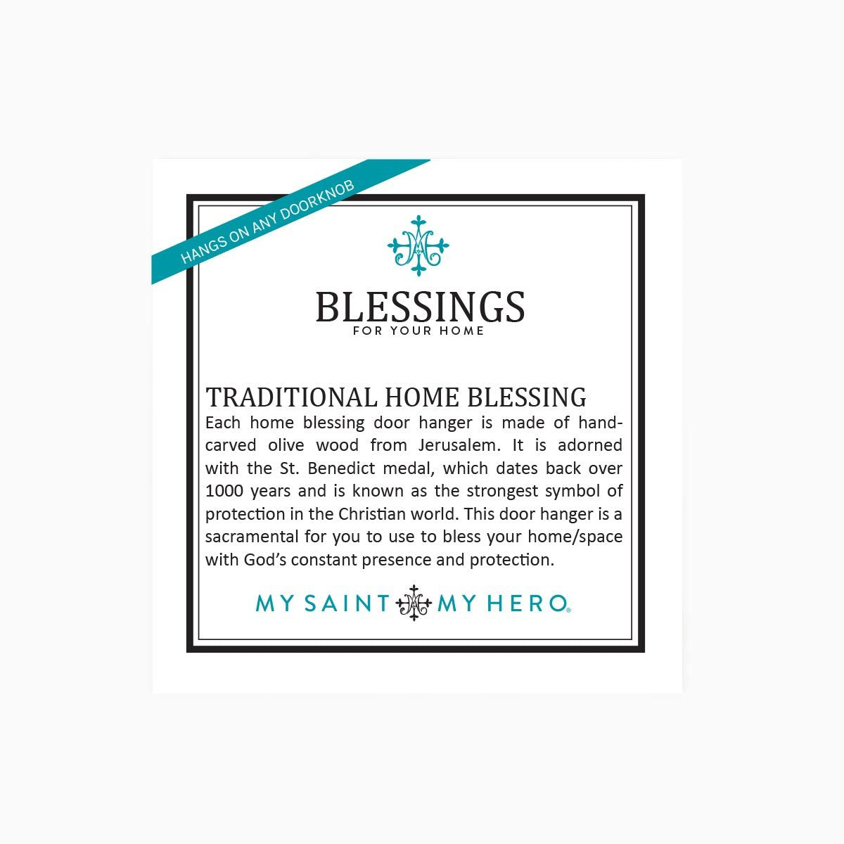 Blessings for Your Home Door Hanger