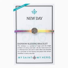 Load image into Gallery viewer, New Day Rainbow Blessing Bracelet