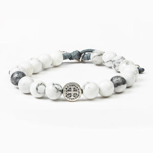Peace Howlite Power Bracelet