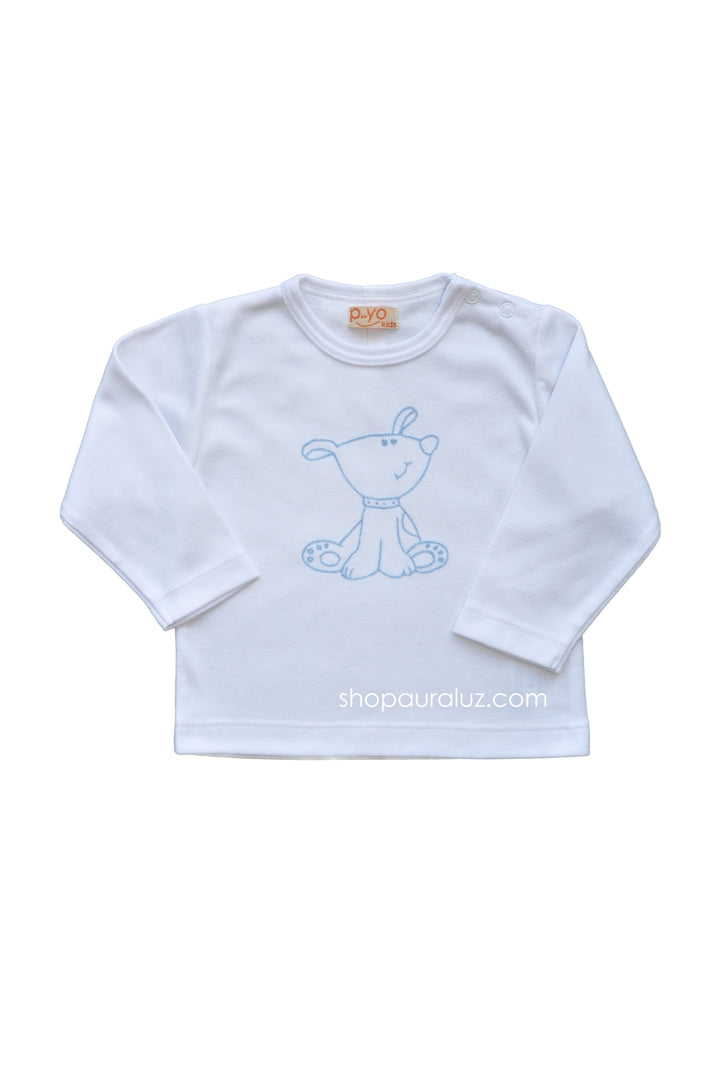p..yo Knit l/s T-Shirt-Dog