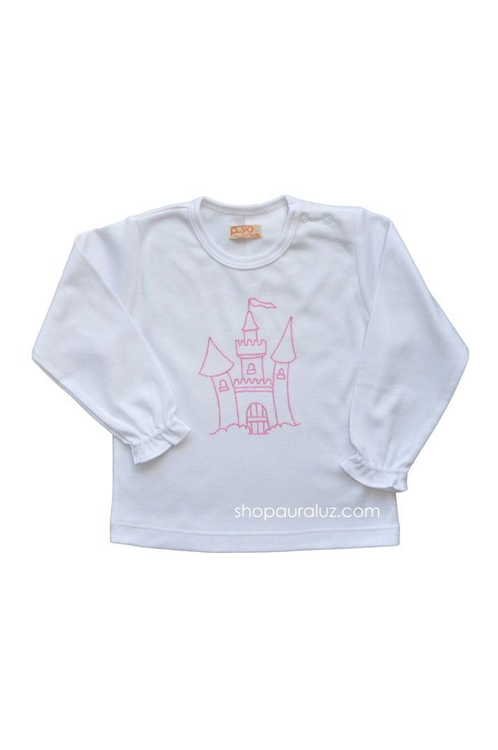 p..yo Knit l/s T-Shirt-Castle