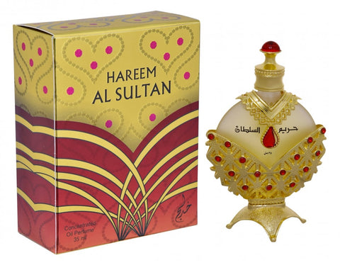 Hareem Al Sultan Gold Perfume Oil - 35 ML (1.2 oz) by Khadlaj