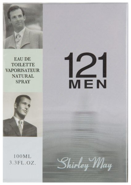 121 Men for Men EDT - 100 mL (3.4 oz) by Shirley May