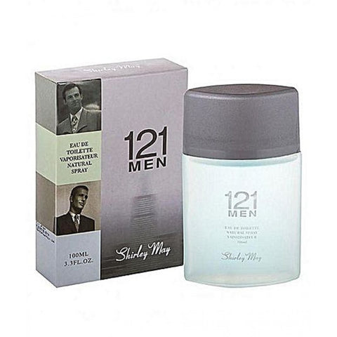 121 Men for Men EDT - 100 mL (3.4 oz) by Shirley May - Intense oud
