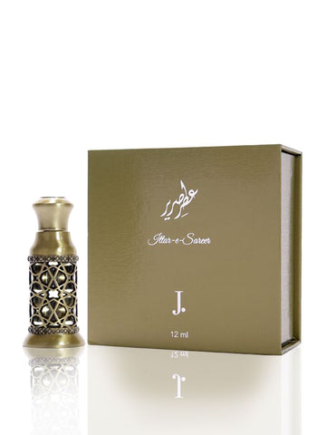 Attar E Sareer for Men Perfume Oil - 12 ML (0.4 oz) by Junaid Jamshed - Intense oud