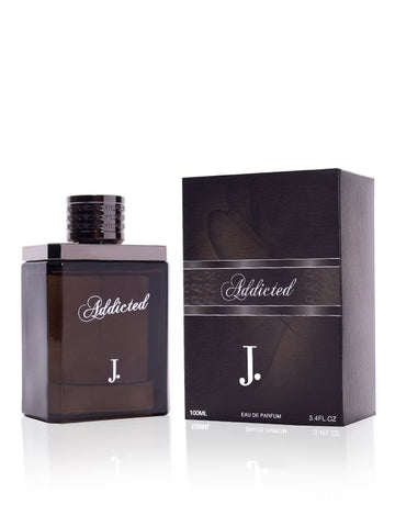 Addicted for Men EDP- 100 ML (3.4 oz) by Junaid Jamshed - Intense oud