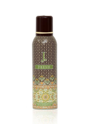 J.Fresh for Women Deodorant Spray - 200 ML (6.8 oz) by Junaid Jamshed