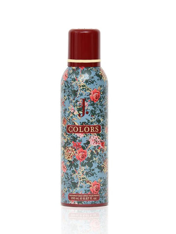 J.Colors for Women Deodorant Spray - 200 ML (6.8 oz) by Junaid Jamshed