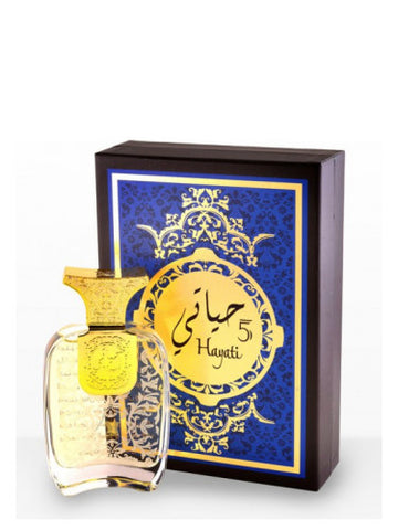 Hayati 5 for Women EDP- 100 ML (3.4 oz) by Arabian oud