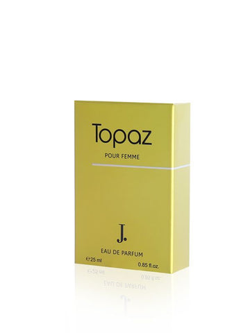 Topaz for Women EDP- 25 ML (0.85 oz) by Junaid jamshed - Intense oud