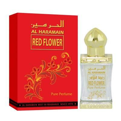 Red Flower Perfume Oil - 12 ML (0.4 oz) by Al Haramain