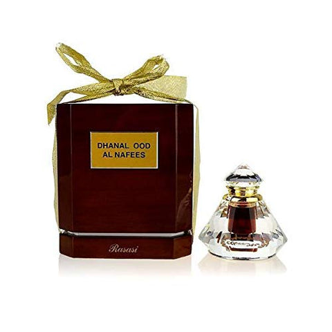 Dhanel Oudh Al Nafees Perfume Oil - 6 ML (0.20 oz) by Rasasi