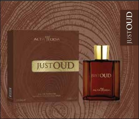 Just Oud EDT- 100 ML (3.4 oz) by Alta Moda