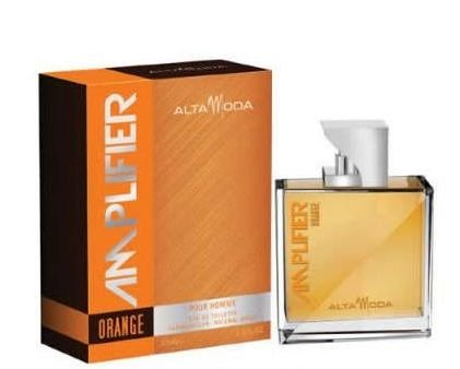 Amplifier (Orange) EDT- 100 ML (3.4 oz) by Alta Moda