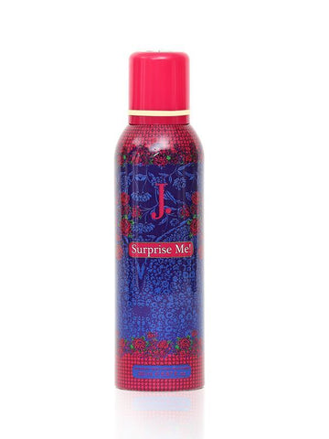 J.Surprise Me for Women Deodorant Spray - 200 ML (6.8 oz) by Junaid Jamshed