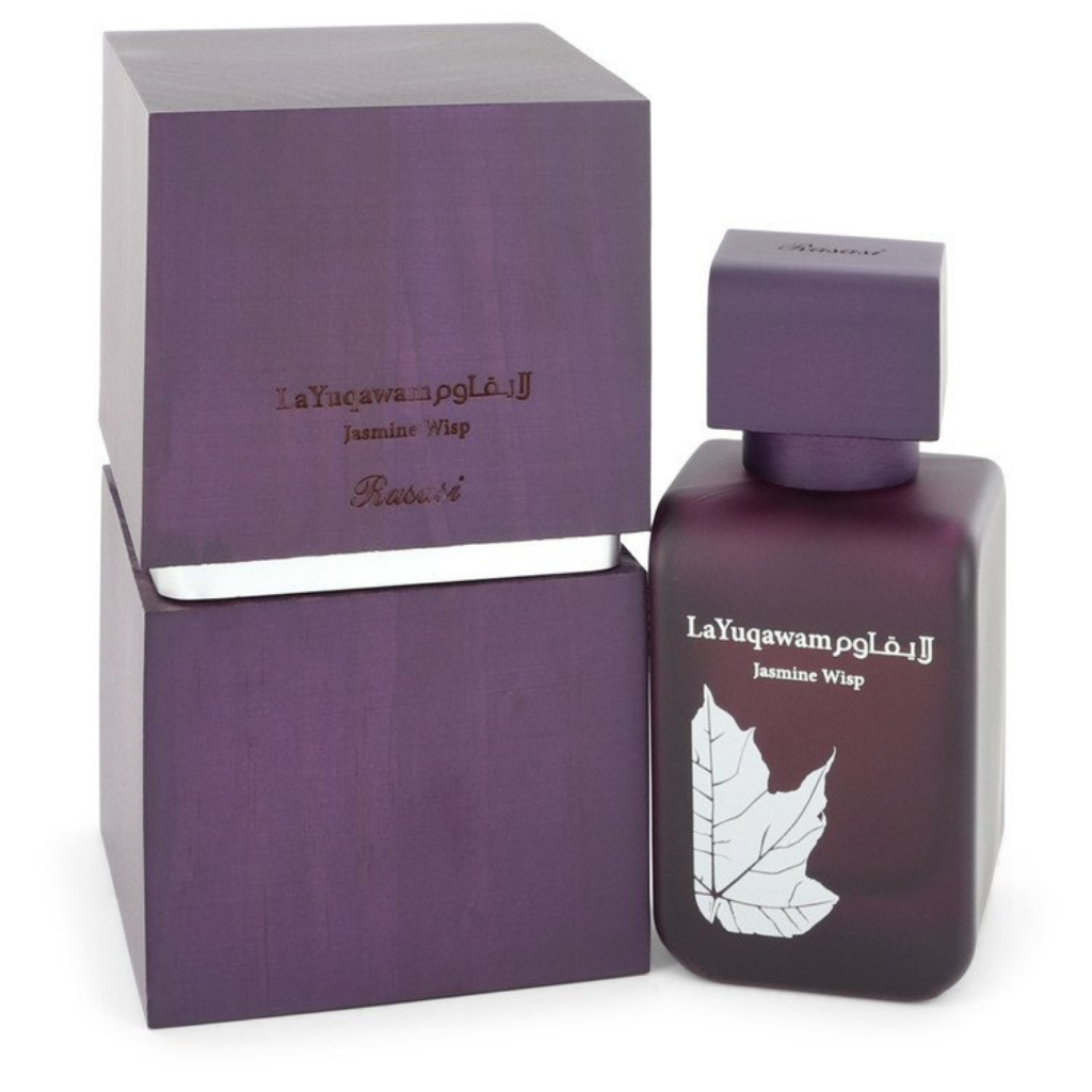 La Yuqawam Jasmine Wisp for Women EDP - 75 ML (2.5 oz) by Rasasi - Intense oud