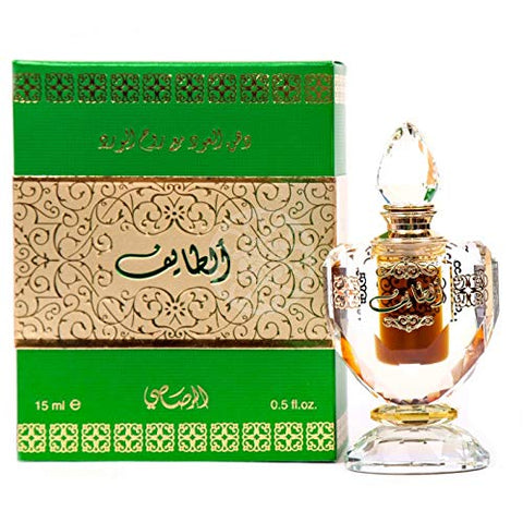 Al Taif Perfume Oil - 15 ML (0.50 oz) by Rasasi