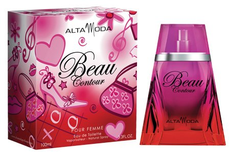 Beau Contour for Women EDT- 100 ML (3.4 oz) by Alta Moda