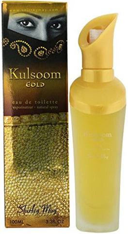 Kulsoom Gold for Women EDT- 100 ML (3.4 oz) by Shirley May
