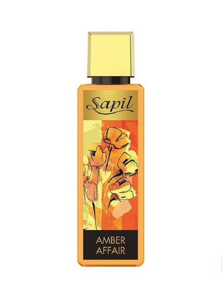 Amber Affair for Women Body Mist - 250 ML (8.4 oz) by Sapil - Intense oud