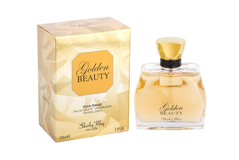 Golden Beauty for Women EDT- 100 ML (3.4 oz) by Shirley May