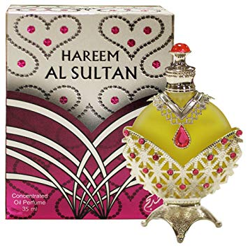 Hareem Al Sultan Silver Perfume Oil - 35 ML (1.2 oz) by Khadlaj