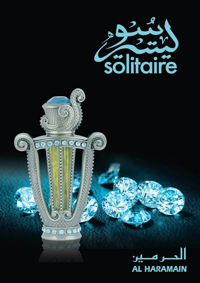 Solitaire Perfume Oil - 12 ML (0.4 oz) by Al Haramain - Intense oud