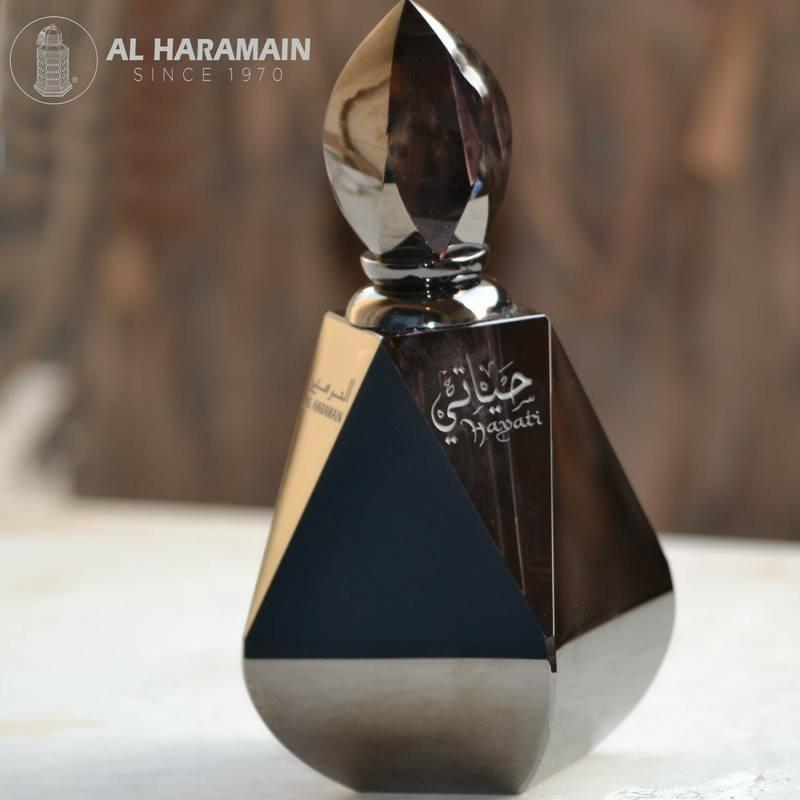 Hayati Perfume Oil - 12 ML (0.4 oz) by Al Haramain - Intense oud