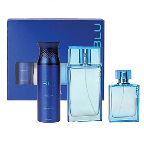 Blu for Men Gift Set by Ajmal