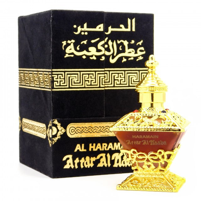 Attar Al Kaaba Perfume Oil - 25 ML (0.8 oz) by Al Haramain - Intense oud