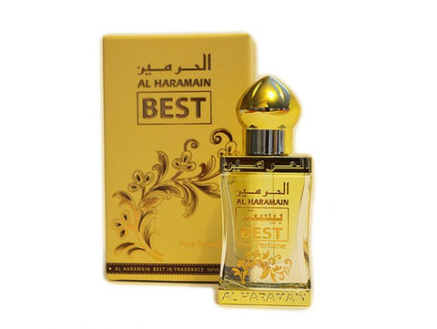 Al Haramain Best Perfume Oil - 15 ML (0.5 oz) by Al Haramain - Intense oud
