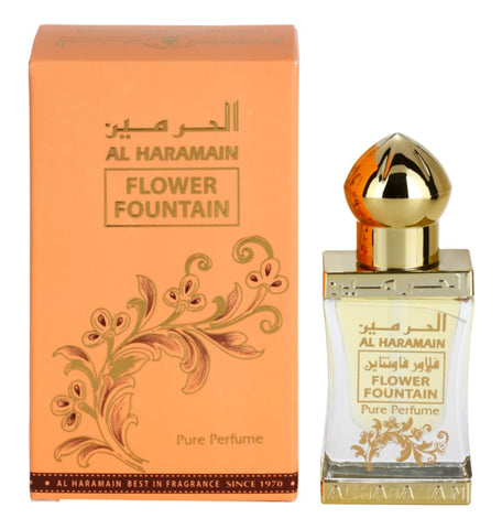 Flower Fountain for Women Perfume Oil - 12 ML (0.4 oz) by Al Haramain