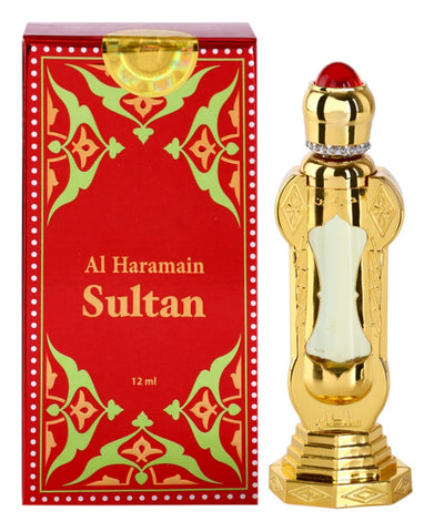Sultan Perfume Oil - 12 ML (0.4 oz) by Al Haramain
