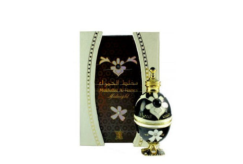 Mukhallat Al Hamra Midnight for Women Perfume Oil- 12 ML (0.4 oz) by Arabian Oud
