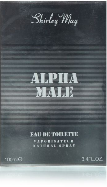 Alpha Male for Men EDT - 100 mL (3.4 oz) by Shirley May - Intense oud
