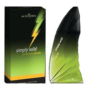 Simply Wild for Men EDT- 100 ML (3.4 oz) by Alta Moda - Intense oud