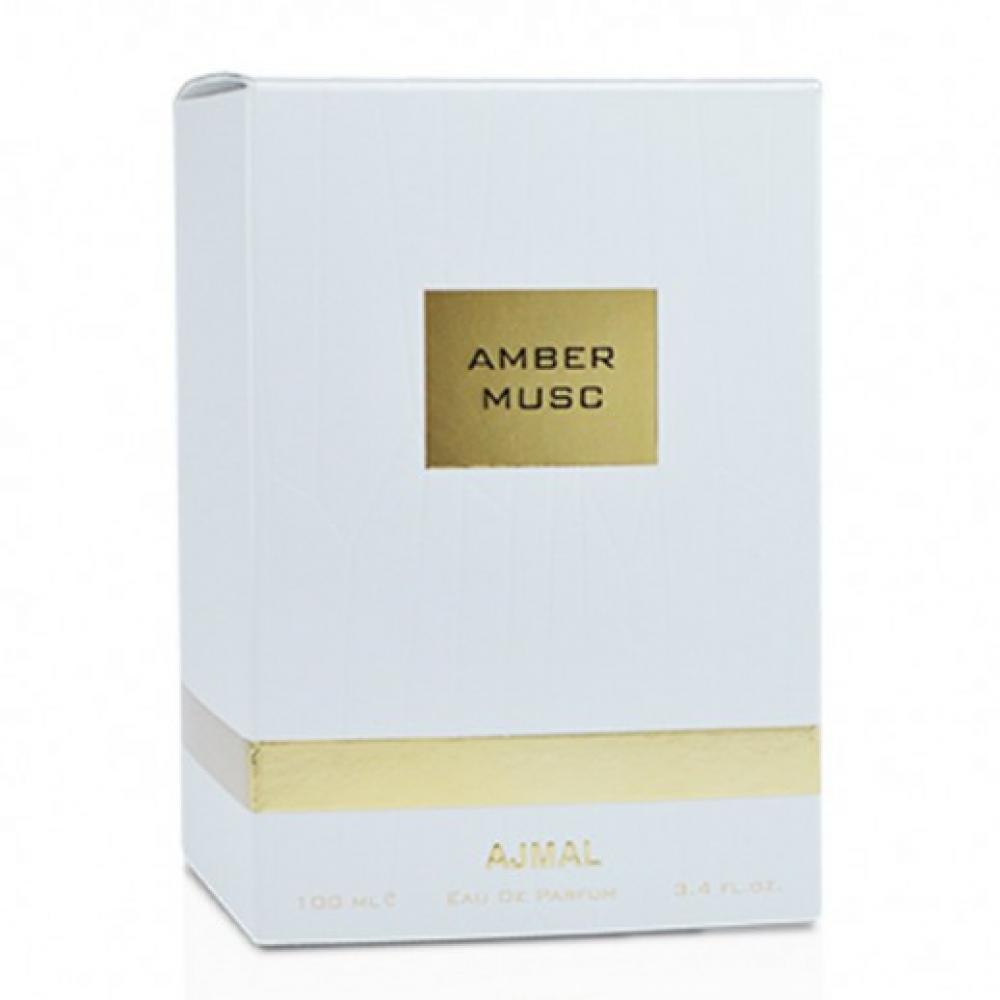 Amber Musc EDP - 100 ML (3.4 oz) by Ajmal - Intense oud