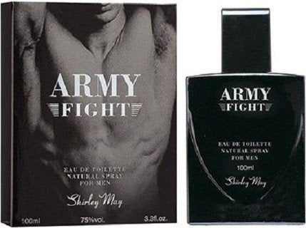 Army Fight for Men EDT - 100 ML (3.4 oz) by Shirley May - Intense oud