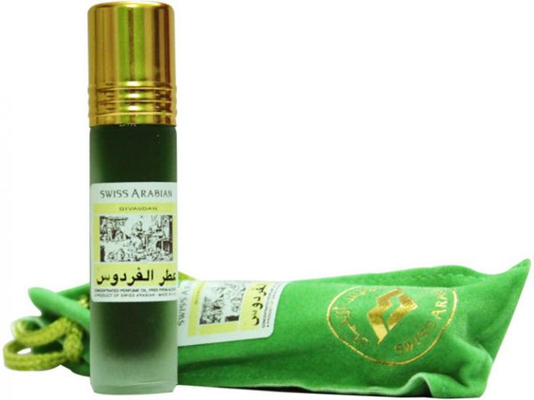 Jannet Ul Firdaus Roll on Perfume Oil - 8 ML (0.3 oz) by Swiss Arabian
