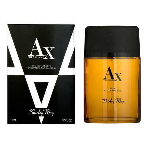 AX 444 for Men EDT - 100 mL (3.4 oz) by Shirley May - Intense oud